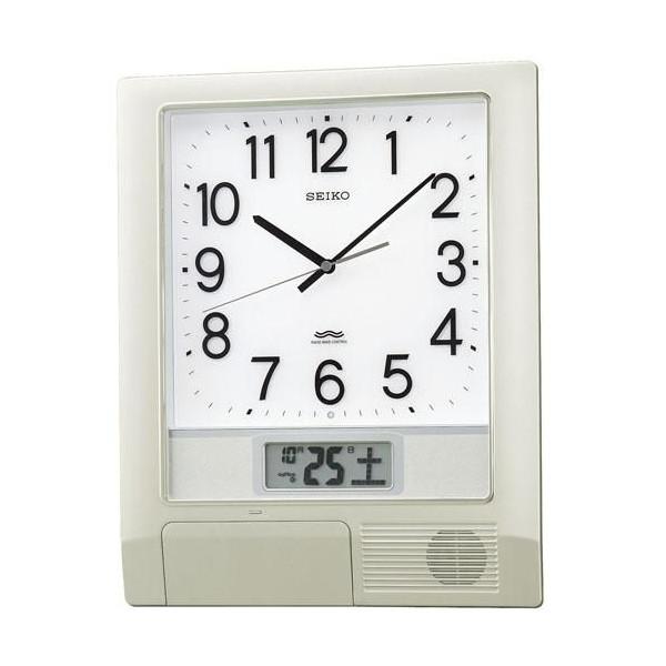 【SEIKO CLOCK】セイコー プログラムクロック 電波掛時計 PT201S【ネコポス不可】
