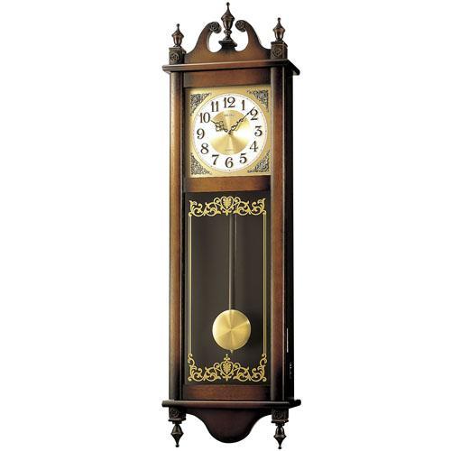 【SEIKO CLOCK】セイコー チャイム&ストライク 電波掛時計 RQ306A【送料無料】【ネコポス不可】