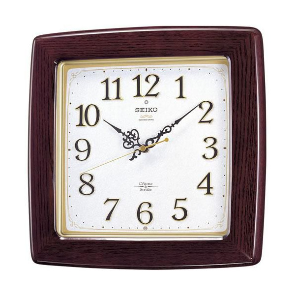 【SEIKO CLOCK】セイコー チャイム&ストライク 電波掛時計 RX211B【ネコポス不可】
