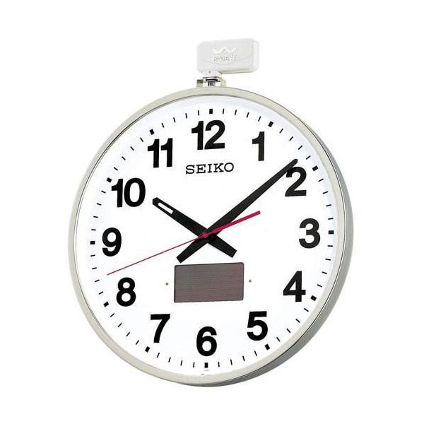 【SEIKO CLOCK】セイコー ソーラー 屋外用 電波掛時計 SF211S