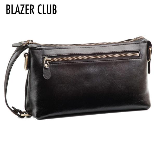 【BLAZER CLUB】 ブレザークラブ メンズ セカンドバッグ 豊岡製鞄 日本製 オイルヌメ革 ブラック 25783-1