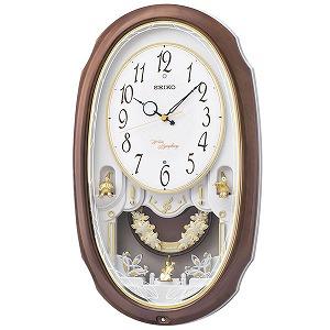 セイコークロック SEIKO CLOCK アミューズ時計 掛け時計 アナログ AM260A