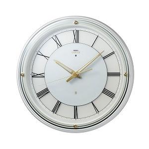セイコークロック SEIKO CLOCK 夜でも見える 掛け時計 アナログ HS550W