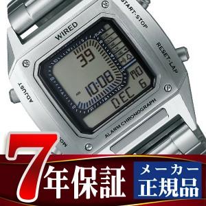 【7年保証】【正規品】セイコー ワイアード ソリディティ SEIKO WIRED SOLIDITY デジタル クロノグラフモデル メンズ 腕時計 AGAM401 Featuring BEAMS モデル