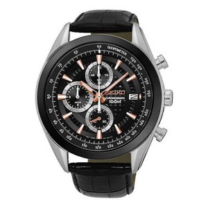 【逆輸入SEIKO】セイコー SEIKO クロノ クオーツ メンズ 腕時計 SSB183P1 ブラック