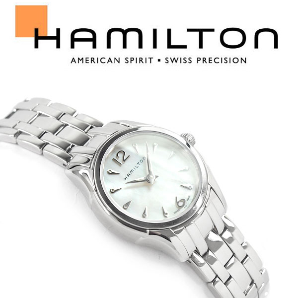 【Hamilton】ハミルトン ジャズマスター レディー クォーツ レディース腕時計 ホワイトシェルダイアル ステンレスベルト H32261197【あす楽】