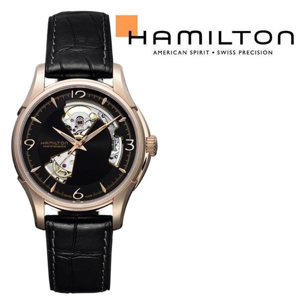 ハミルトン ジャズマスター オープンハート 自動巻き 腕時計 H32575735