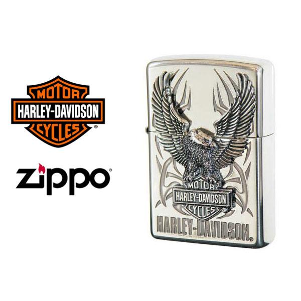 【ZIPPO Harley‐Davidson】ジッポオイルライター ハーレーダビッドソン ビッグメタル シルバーイブシベース×エッチング×シルバーイブシメタル HDP-07【送料無料】【流通限定品】【ネコポス不可】