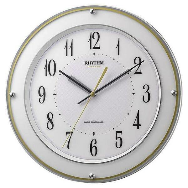 リズム RHYTHM ミレディサヤカ 掛け時計 8MY510SR03 ホワイト