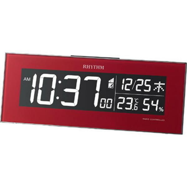 1more Rhythm Rhythm イロリア 電波掛置兼用 Ac Style Digital Clock