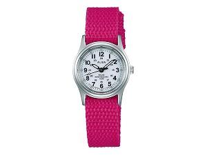 【SEIKO ALBA】セイコー アルバ ソーラー レディース 腕時計 ペアモデル ミリタリー AEGD558