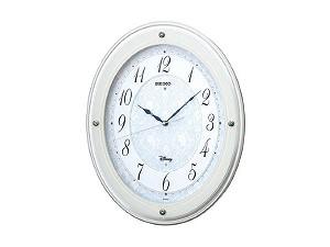 【SEIKO CLOCK】セイコー SEIKO ディズニータイム 電波時計 掛け時計 FS502W