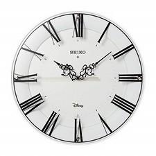 【SEIKO CLOCK】セイコークロック製セイコー SEIKO ディズニータイム 電波掛け時計 FS506W ホワイト