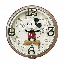 【SEIKO CLOCK】セイコークロック製セイコー SEIKO ディズニータイム ミッキー 掛け時計 FW576B ホワイト