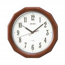 【SEIKO CLOCK】セイコークロック製セイコー SEIKO 衛星電波クロック 掛け時計 GP215B ホワイト