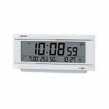 【SEIKO CLOCK】セイコークロック製セイコー SEIKO 衛星電波目覚まし時計 GP501W ホワイト
