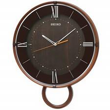 【SEIKO CLOCK】セイコークロック製セイコー SEIKO 電波振り子時計 掛け時計 PH206B ブラウン