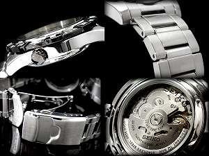 SEIKO 5 sports men self-winding watch type watch black bezel black dial stainless steel belt SRP139J1