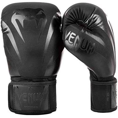 ヴェナム ボクシンググローブ IMPACT 新着セール マットブラック 10oz 再入荷/予約販売! スパーリンググローブ VENUM-03284-130 キックボクシング 海外正規品 VENUM