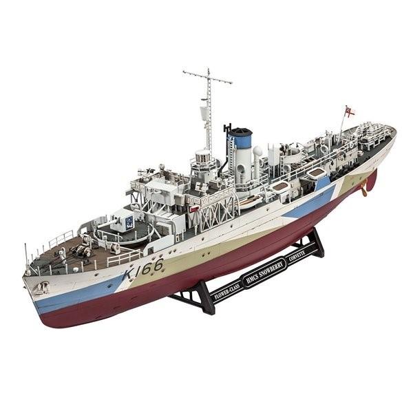 レベル ドイツレベル プラモデル Revell 1/144 フラワー級コルベット HMCSスノーベリー プラモデル 05132 艦船 軍艦 送料無料 プレゼント