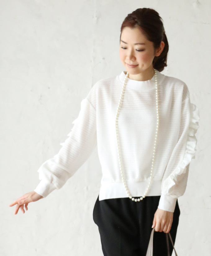 "4/28 from 22 at very low * ""french"" impressive sleeves ruffle tops 3 / 15 new"