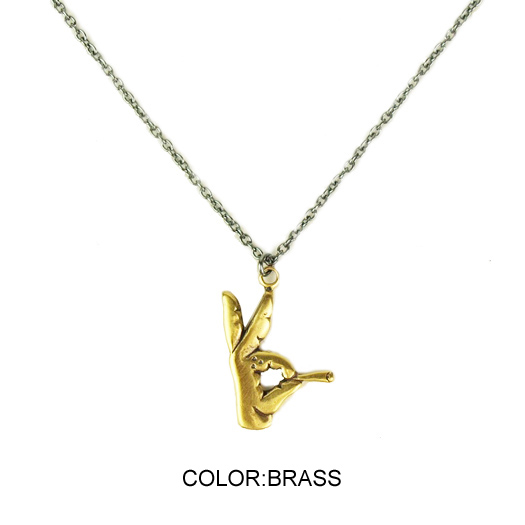 【RADIALL/ラディアル】SOCIAL KLUB NECKLESS【BRASS】【ネックレス】