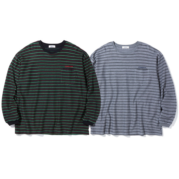 RADIALL ラディアル正規取扱店 ラディアル DUBWISE - CREW NECK 定番スタイル S 送料無料 T-SHIRTS 17時まで即日発送 L 2020A/W新作送料無料 ボーダーTシャツ