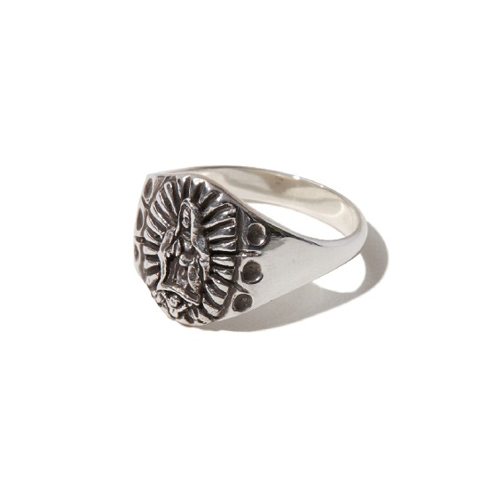 【RADIALL / ラディアル】LOWRIDER CHARM RING 【SILVER】【リング】【送料無料】