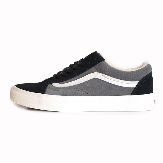 【VANS/バンズ】OLD SKOOL [SUEDE/SHERPA]【VANS スニーカー・靴】【オールドスクール】
