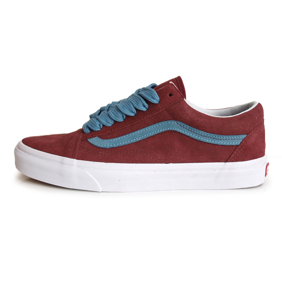 【VANS LIFE STYLE/バンズ ライフスタイル】OLD SKOOL OVER SIZED LACE [CABERNET]【VANS CLASSIC スニーカー・靴】