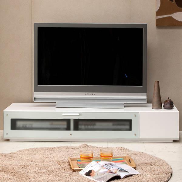 【送料無料】 スタイリッシュなロータイプの150テレビボード(WH/BK/BR)