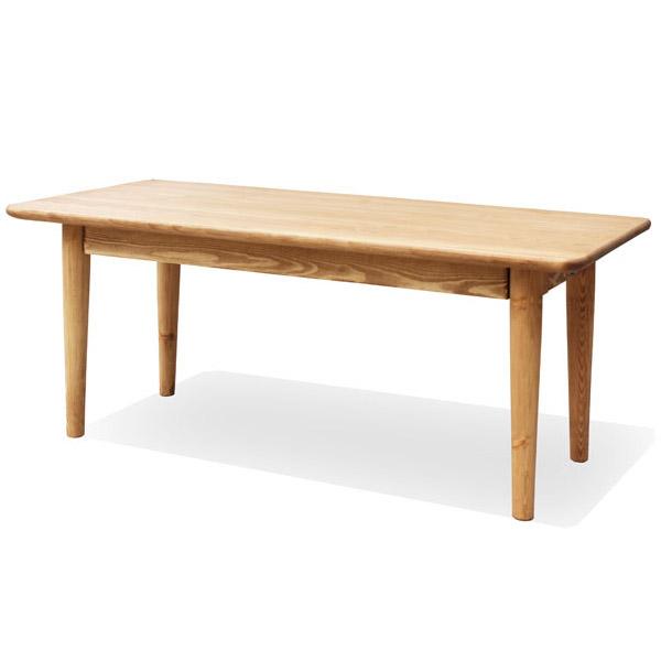 【送料無料】 【無公害塗料】パイン材 カントリー調 ローテーブル 幅1000mm スッキリデザイン リビングテーブル 自然塗料