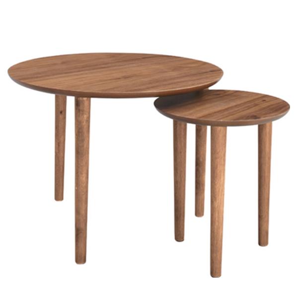 【送料無料】 Tomoru (トモル) ラウンドネストテーブル テーブル リビングテーブル 組み立て家具 組立家具 ラウンドネスト ウッド ノルディックデザイン ローテーブル ネストテーブル サイドテーブル つくえ 机 北欧 ナチ