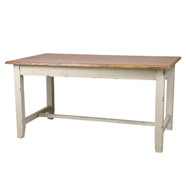 【送料無料】 Bloom (ブルーム) ダイニングテーブル ダイニングテーブル 食卓テーブル 4人掛け ミッドセンチュリー かわいい 通販 フレーム インテリア 白 ホワイト アイボリー ファミリーサイズ 4人用 ダイニング テ