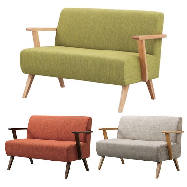 【送料無料】 ソファ 2P ナチュラル チェア ファブリック ファブリックチェア ファブリックチェアー 家具 椅子 いす イス ダイニングチェア ダイニングチェアー ソファー 2人掛 2人用 チェアー 北欧 テイスト モダン シンプ