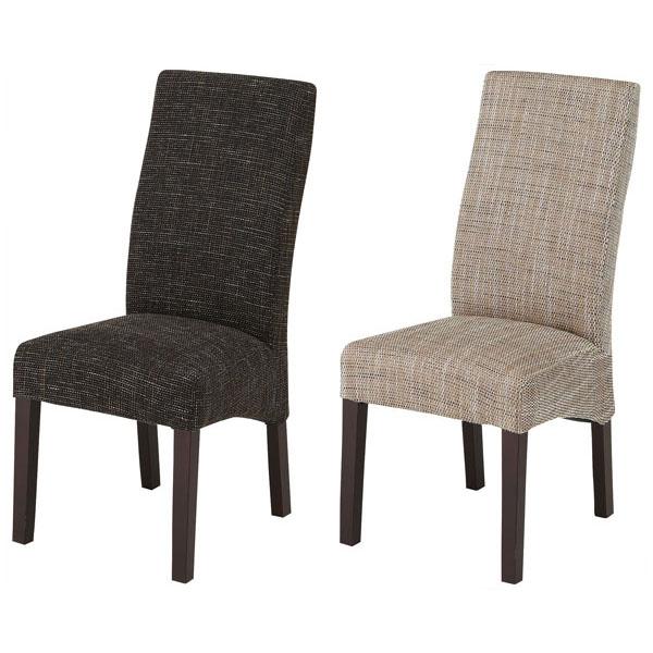 【送料無料】 ダイニングチェア (BE/BR) 1脚 単品 チェアのみ チェアー チェア ブラウン 北欧 モダン シンプル おしゃれ インテリア 家具 カフェ風 ダイニングチェアー 食卓椅子 いす イス 椅子 ダイニング 木製 布製