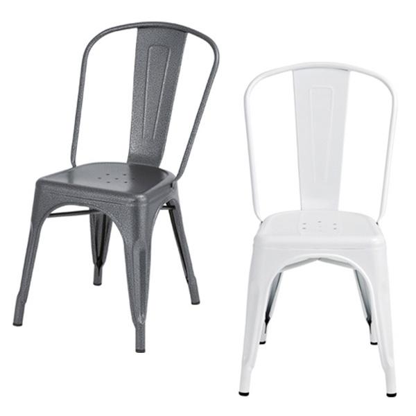【送料無料】 チェア (BK/IV) チェアー 1脚 単体 単品 椅子 イス ダイニングチェア 食卓椅子 いす カフェ カフェ風 ミッドセンチュリー デザイナーズ風 シンプル インテリア 家具 デザイン スタッキング可 ブラック ア