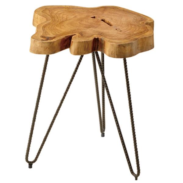 【送料無料】 サイドテーブル サイド テーブル 机 ソファーサイド ベッドサイド ミニテーブル ナイトテーブル スタイリッシュ 木製 ナチュラル 変形 おしゃれ ソファーサイド ベットサイド コーヒーテーブル シンプル モダン 北欧