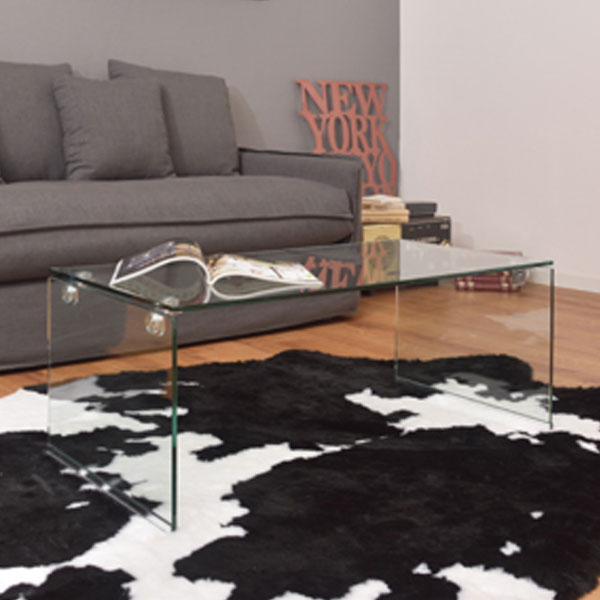 【送料無料】 100 ガラステーブル (CL/BK) センターテーブル ガラス テーブル リビング テーブル ブラック クリア 家具 カフェ リビング スタリッシュ 透明 黒 シンプル オシャレ テーブル 机 インテリア モダン