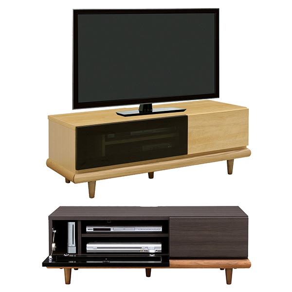 【送料無料】 【おまけ付】115 TVボード(BK/NA) テレビ台 ローボード TV台 日本製