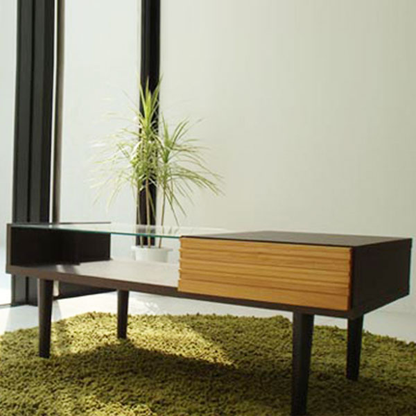 【送料無料】 100 リビングテーブルアルダー材の美しい木目が映えるリビングテーブルテーブル センターテーブル リビングテーブル ローテーブル 机 カフェテーブル レトロ コーヒーテーブル アルダー材