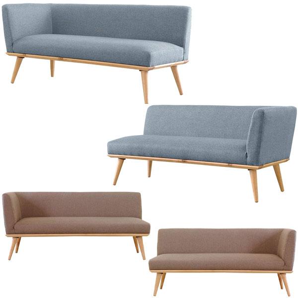 【送料無料】 カウチソファ (BL/BR・右/左) シンプルな北欧風デザインは様々なお部屋と相性抜群◎やさしい雰囲気を醸し出します。