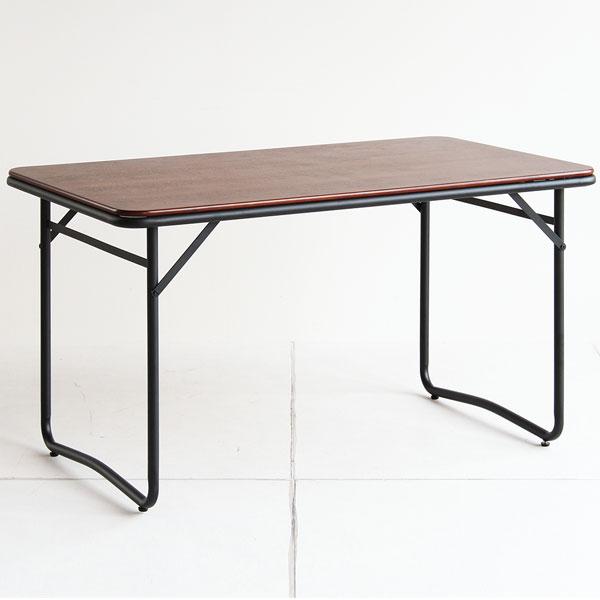 【送料無料】133 ダイニングテーブル 4人用 シンプルモダンな食卓テーブル 作業台としてもおしゃれ 北欧/モダン/シンプル/ブルックリン/男前/レトロ/ミッドセンチュリー 幅133.5cm 奥行き76cm 高さ72cm