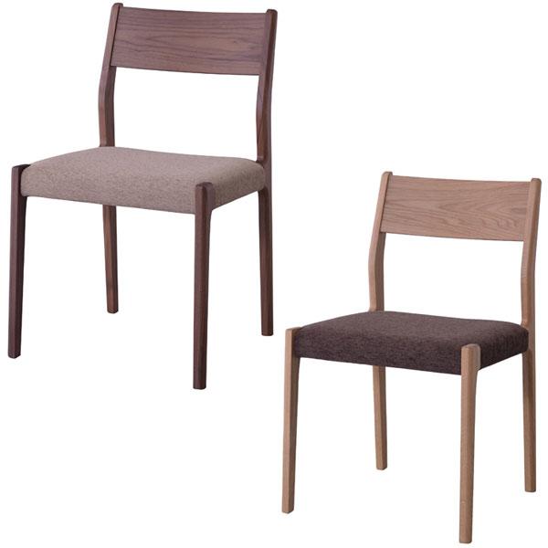 【送料無料】 ダイニングチェア (OAK/WAL) シンプルなフォルムが美しく飽きがこないデザイン 使い易さと心地易さを兼ねそろえたチェア 座りやすく軽量◎ 食卓 ダイニング 椅子 オーク ウォールナット 茶系 ベーシック/北欧/ナ
