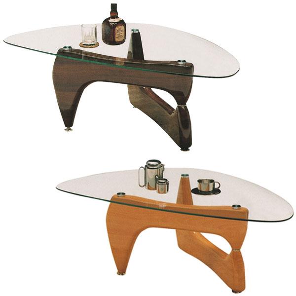【送料無料】120 センターテーブル (NA/BR) リビングテーブル ガラステーブル ナチュラル ブラウン モダン/デザイナーズ/シンプル/モダン/レトロ/ミッドセンチュリー/カフェ風/北欧/おしゃれ ガラス テーブル