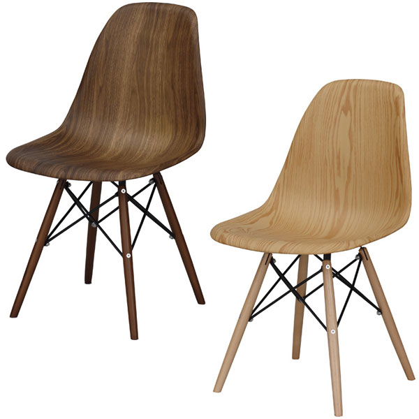 【送料無料】チェア ウォールナット/オーク ダイニングチェアー 食卓椅子 デスクチェア 椅子 チェアー 天然木×スチール 幅46cm 奥行き55cm 高さ81cm 座面の高さ45cm 北欧/ナチュラル/カントリー/カフェ/レトロ/モダン