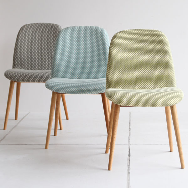 【送料無料】 ダイニングチェアー グレー/ブルー/グリーン チェア イス 椅子 いす デスクチェア シンプル 食卓椅子 ファブリック 北欧/ナチュラル/カントリー/ポップ 幅45.5cm 奥行き52.5cm 高さ80cm 座面高43cm 完成品