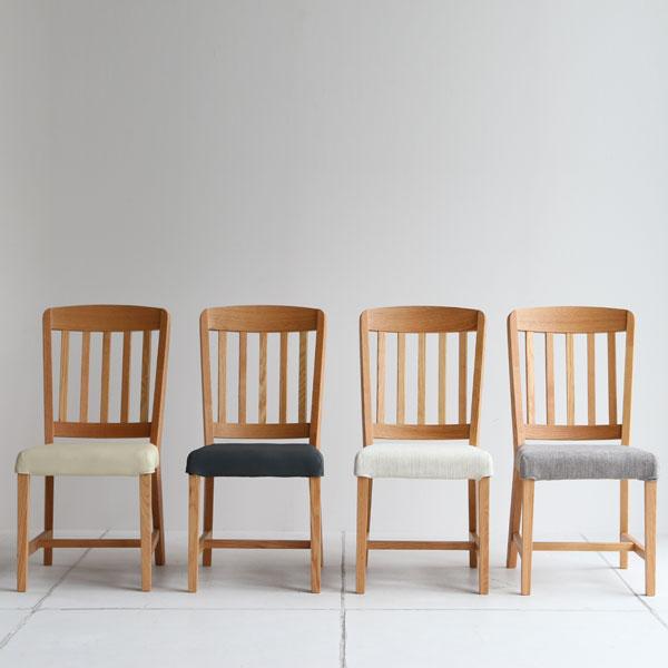 【送料無料】 ダイニングチェアー 布座 ファブリック:アイボリー/グレー PVC:ベージュ/グレー チェア イス 椅子 いす デスクチェア シンプル 食卓椅子 北欧/ナチュラル/カントリー 幅43cm 奥行き56cm 高さ88.5cm 座面高44cm 完成品