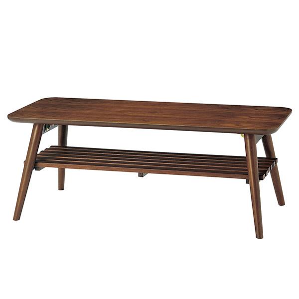 【送料無料】センターテーブル(折畳み式) アンティーク調でオシャレに センターテーブル テーブル 机 つくえ リビング 折畳み 折畳み式 オシャレ アンティーク調 グリーン シンプル