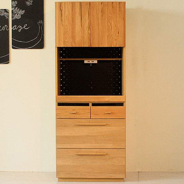 【送料無料】70 キッチンボード 食器棚 ダイニングボード 家電置き 家電収納 北欧/シンプル/ナチュラル/モダン